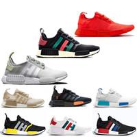 best sneakers a817a 4959b adidas nmd R1 yeezy schwarz beige Grün camo Triple schwarz weiß Männer Sand Frauen  Laufschuhe Rot