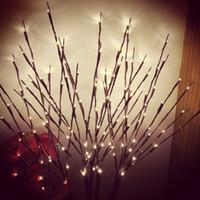 Ramas de 20led Light Battery Powered Twig Lámpara Interior Hotel Simulación Árbol Luz FOTOGRAFÍA FOTOGRACIÓN DE PROPORTE DE Decoración de Navidad Árbol Lámpara