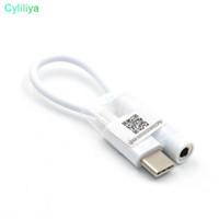 USB Adaptörü Tip-C 3.5mm Ses Hoparlör Kadın Kulaklık Mikrofon kulaklık Jack Xiaomi 6 Huawei p9 LeEco Pro 3 Le Için Kapak Kablosu (hl)