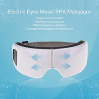 Wireless USB Intelligente Luftdruck Augenmassagegerät Einstellbare Elektrische Frequenz Vibration Fernen Infrarot Heizfunktion Auge Entspannen Massagegerät