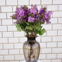 Silk Lilac Fake Flowers Branch Heim neues Jahr-Dekoration Zubehör Hochzeit Braut Bouquet DIY Material Günstige Künstliche Blumen