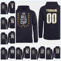 9 Filip Forsberg Nashville Predators 2018 Stanley-Cup-Ausscheidungen Viktor Arvidsson Roman Josi Nick Bonino Pekka Rinne P.K. Subban Jersey