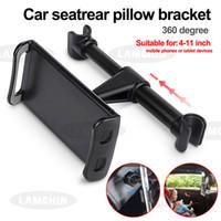 Il cuscino posteriore dell'automobile si regge il supporto del telefono dell'automobile del supporto del telefono cellulare del supporto del telefono cellulare del supporto del sedile posteriore