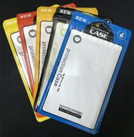 Confezioni Scatole per telefoni cellulari Custodia in plastica per cerniere Custodie per cellulari Custodia per cellulare Custodia con cerniera in PVC Sacchetti regalo Borsa per iPhone XS X 8 7 6S 6 Plus