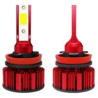 Q1-H8 / H9 / H11 dell'automobile LED della lampadina del faro 50W IP68 6000K 6000 lumen estremamente luminoso kit di conversione Chips