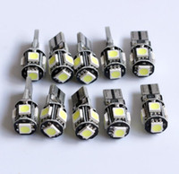 Led canbus error auto glühbirne weiß t10 5050 5smd canbus led leselampe lampe kka6753