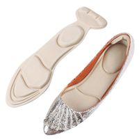 1 paio di donne sottopiede pad traspirante inserti anti-slip inserti tacco alto inserto tampone tacco per tacco a pedale scarpe accessori