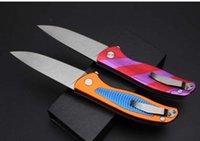 Shirogorov Phoenix Tail алюминиевая ручка 9CR18MOV камень мытья G10 58-60HRC складной нож выживания карманный кемпинг охотничий нож подарок Xmas a1216