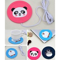 USB Cup Pad Warmer Heater Cartoon Silicone Heater for Milk T...