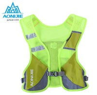 AONIJIE Marathon Reflective Vest Bag Sport Running Cycling Bag per la sicurezza degli uomini donna