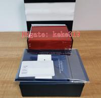 Calidad de la manera de la ONU Alto 1846 regalos cronómetro del buceo de profundidad de vacaciones Papeles Caja Cajas de madera bolso para Swiss Marine 263-10-3 / 93 Relojes