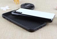 2D 2 em 1 caixa de borracha de sublimação durável para iphone 6 ip8 iphone x XR XSMAX 7 PLUS 6 PLUS placa + cola DHL frete grátis 100 PCS
