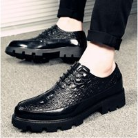 2019 New Luxury Fashion Wedding Business Shoes Men Oxford Dr...