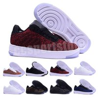 nike flyknit air force 1 one 2020 Mode Hommes Chaussures Low One 1 Hommes Femmes Chine Chaussures Casual Fly Royaums type Respirez Femme Homme Skate tricot 36-45 CC5135