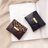 Free Shipping Small Short Wallet Card Package New Fashion Si...