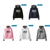Apex Legends Hoodies Letter Print Fake Two Pieces Sweatshirt...