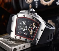 Men' s luxury watch RM brand fashion skeleton watch quar...