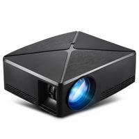 LED Projektörler C80Up, 1280x720 Çözünürlük, 3D Ev Sineması için Android Wifi Mini Projektör, İsteğe Bağlı C80 Beamer