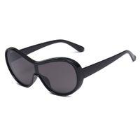 Neuer Entwurf billig billig verbundene Linsen-Frauen-Sonnenbrille fünf Tropfenverschiffen der Farbe 20pcs / lot