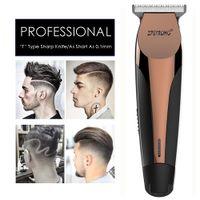 100-240 Tondeuse de précision Tondeuse électrique professionnelle cheveux Beard rasage machine 0.1mm Cutter hommes Barber coupe de cheveux outil