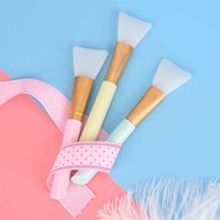 1 Pcs Facial Mask Stirring Brush Soft Silicone Makeup Brush ...