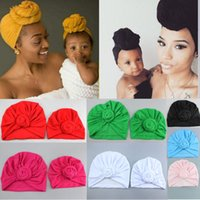 Nishine 8 Colors Newborn Baby & Mom Toddler Kids Rose Bowkno...