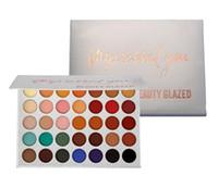 Beauty Glazed Apterped You 35 прессованные блеск вечной палитры световые матовые матовые для ношения Coloris Makeup Eye Shadow Palettes