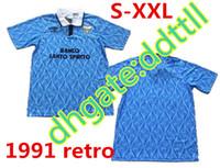 4a7e093c88c New Arrival. 1991 Lazio Retro version Soccer Jersey 90 91 92 Lazio IMMOBILE  SERGEJ LULIC ...