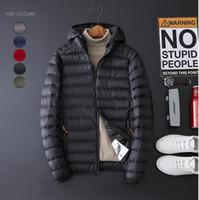 Novo estilo dos homens de auto-cultivo coreano tendência jaqueta de algodão no comércio exterior de inverno dos homens multi-cor chapéu jaqueta de algodão moda