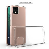 For Google Pixel 4 3A XL Cover TPU Transparent Phone Case