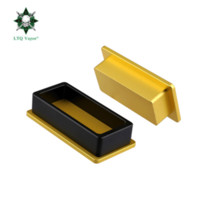 "LTQ Vapor Rosin Pre-Press Mold 2 * 4"" Dimensioni materiale di alluminio Stampo per Concentrato Cera di estrazione dell'olio e pressione Kit Machine Tool"
