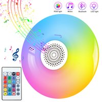 الذكية LED لمبة E27 RGB الأبيض سماعات بلوتوث LED لمبة ضوء الموسيقى اللعب عكس الضوء لاسلكية بقيادة مصباح مع 24 مفاتيح التحكم عن بعد