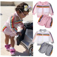 kids designer clothes girls outdoor sport outfits children l...
