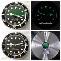 8 Art-Qualitäts-Marke SEA-Uhr-Taktgeber Wanduhr 34CM × 5 cm 1,5 kg Quarzwerk 316 Stahl Modell 116600 116660 Clock Uhren Uhren