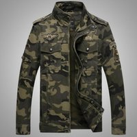 Camouflage Jacket Men Cotton Military Outerwear 2020 Spring ...