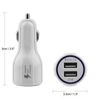 Dual USB Car Charger QC 3. 0 Quick Charge 5V 9V 12V Fast Char...