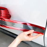 Adesivi per auto 3D e decalcomanie 5D in fibra di carbonio Adesivo striscia di vinile adesivo Car Styling Accessori interni Automobili universale