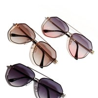Cool Women' s Sunglasses Color Men' s Retro Enamel G...