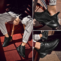 Skyaxmoto Nova malha de beisebol dos homens sapatos respirável frio do sexo masculino Shoes Men confortáveis e sapatas lisas Hot Summer Sale Shoe
