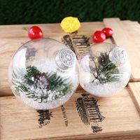 Navidad partido de los ornamentos de la bola chuchería de la decoración de la boda del árbol de navidad colgante bolas de 6 cm 8 cm 10 cm XD21095