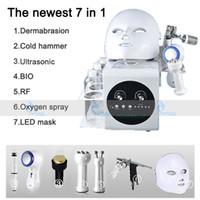 Hidrakacial Su Dermabrazyon Hidro Yüz Makinesi Mikrodermabrazyon Soyma Yüz Temizleme Cilt Gençleştirme Bio RF Cilt Sıkma Makinesi