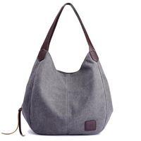 Qualitätsmode Frauen Handtasche Nette Mädchen Tragetasche Freizeit Tasche Lady Canvas Tasche Moderne Handtasche