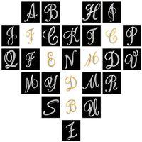 A-Z 26 Crystal English Letter Spilla Initial Lepal Pins Spilla Badge Gioielli di moda per donna Uomo Volontà e sabbiosa Nave da lancio