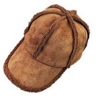 Designer de chapéus de inverno para homens e mulheres engrossado manter quente boné de beisebol sólida casual chapéu ajustável hip-hop cap