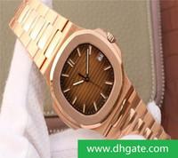 Meilleur Editio PF5711 mode luxe de précision Bracelet en acier Cal.324 Mouvement automatique Montres Designer Chain étanche