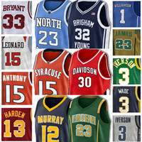 23 Michael North Carolina NCAA joel 21 embiid Jerseys Ben Jersey Simmons Allen Iverson 3 Vince Carter 15 Universität Basketball Leonard
