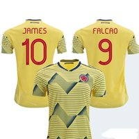 2019 Colombia Soccer Jerseys Home Away Shirt 10 JAMES 9 FALC...