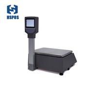 Ethernet di calcolo di prezzi scala elettronica di Supporto Stampa etichetta per il supermercato della stampante Frutta Negozi HS-BS16