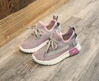 Baby Shoes Primavera Autunno capretto di modo dei bambini delle scarpe da tennis in rete traspirante Ragazzi Ragazze Sport Formato dei pattini correnti 22-36