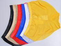 الجملة انخفاض سعر جودة عالية 3 قطعة / السلع الرجال مثير برياثابيليتي الحرير الجليد الشاش سراويل داخلية شفافة (12yuy) hghg